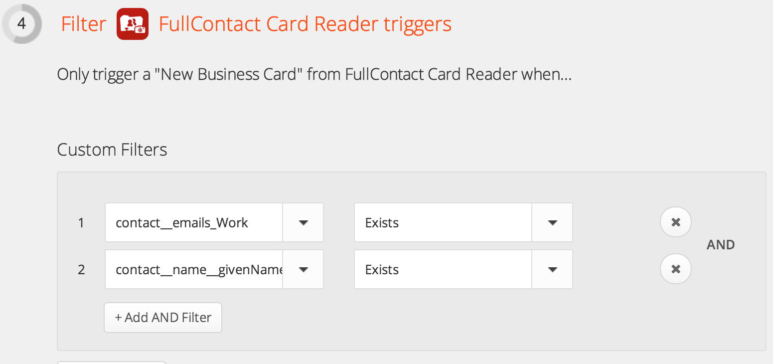 Scan a business card and connect on linkedin fullcontact new business card filters reheart Choice Image